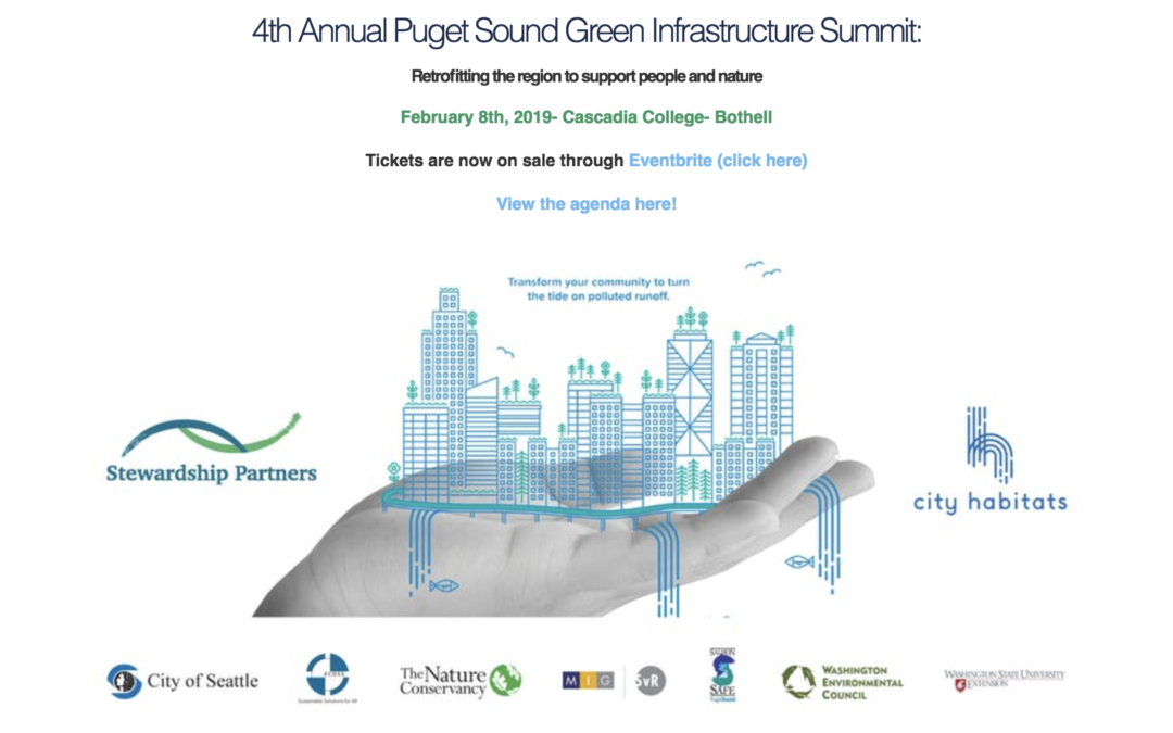 4th Annual Puget Sound Green Infrastructure Summit
